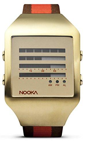 Nooka ZEEL ZENH GD 20 Unisex Zeel LCD Watch