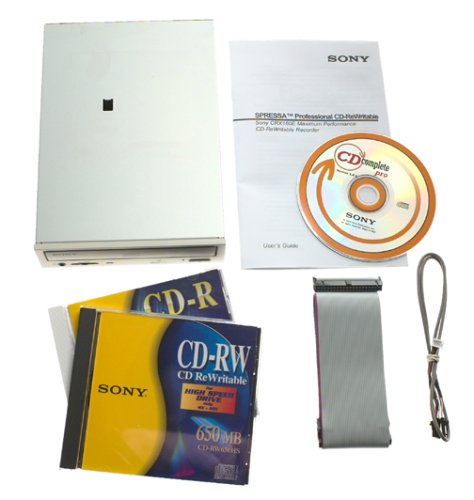Sony CRX160E/A1 12x8x32 Internal EIDE CD-RW Drive