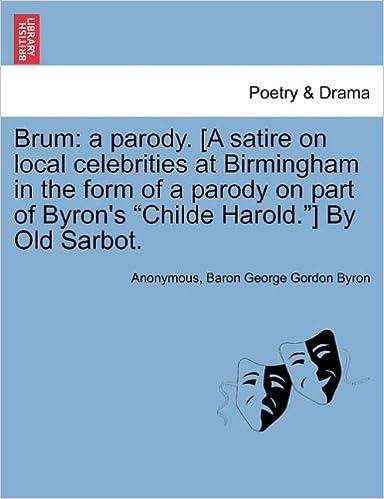 Brum A Parody A Satire On Local Celebrities At Birmingham In