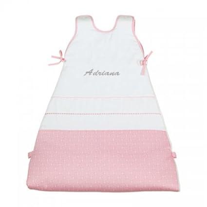 Bolín Bolón-Saco de dormir para bebé-Colección Nubes personalizado-32 Rosa