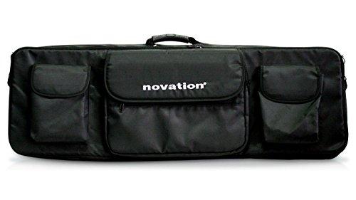 - Novation 61 Soft Shoulder Bag for 61-Key MIDI Controller Keyboards, Black
