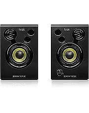 Hercules 4780885 DJMonitor 32: 2x15 watt RMS actieve monitorspeakers, Zwart