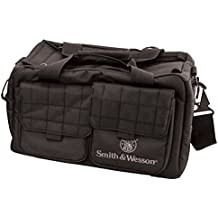 Smith & Wesson M&P by Recruit Tactical Range Bag with Weather Resistant Material for Gun Pistol Shooting Ammo Accessories and Hunting