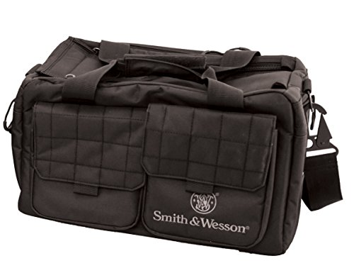 (Smith & Wesson M&P Recruit Tactical Range Bag with Weather Resistant Material for Shooting, Range, Storage and Transport)