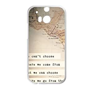 Happy perks of being a wallflower quotes Phone Case for HTC One M8