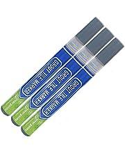 3Pcs Grout Pen Repair Pen Set 3Pcs Waterproof Marker Grout Restorer Pen for Wall Floor Tile Lines