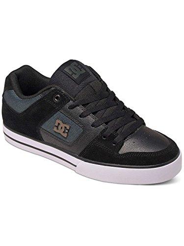 DC Comics Pure Se, Men's Low-Top Sneakers Black Dark Grey