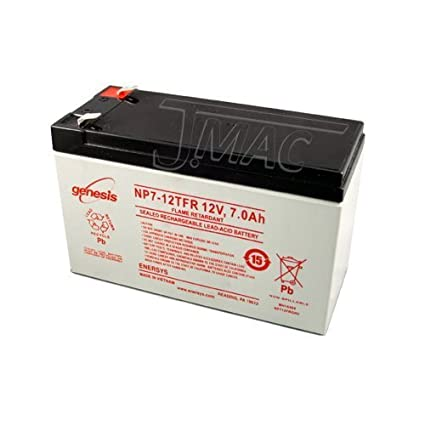 Enersys NP7-12T 12V 7Ah Sealed Lead Acid Battery This is an AJC Brand Replacement