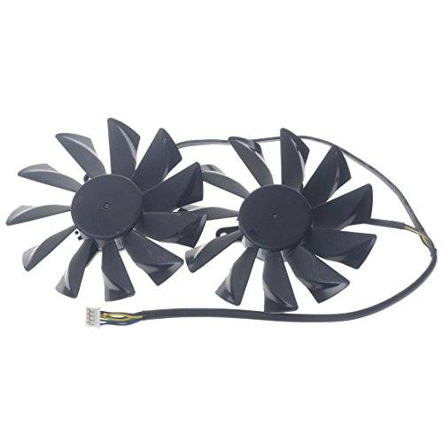 PLD10015B12H 95mm DC12V 0.55A 42mm 4Pin Replacement Graphics Video Card PC Cooling Dual Fan by Allpartz (Image #2)