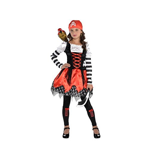 Cruise Cutie Costume - amscan Pirate Crossbone Cutie Costume - Medium