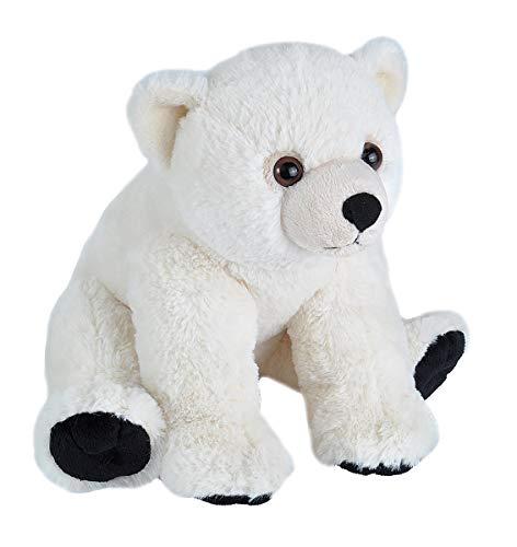 Wild Republic Polar Bear Baby Plush, Stuffed Animal, Plush Toy, Gifts for Kids, Cuddlekins 12 Inches