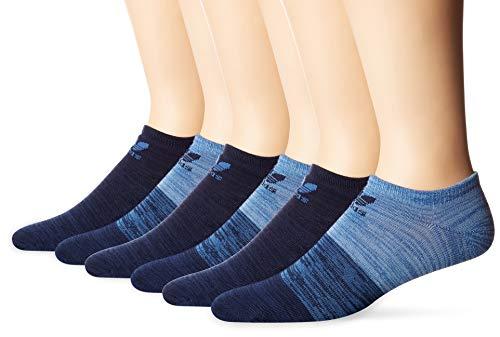 Adidas Socks Mens Originals Blocked Space Dye 6 Pack No Show Socks