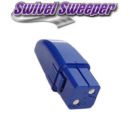 Ontel Rechargeable Battery For All Cordless Swivel Sweeper Models (Blue) ()