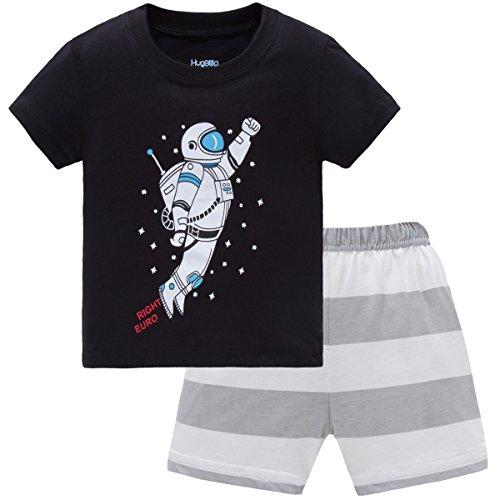 Hugbug Boys Pajamas with Astronaut for Toddler and Kid Boys 6T
