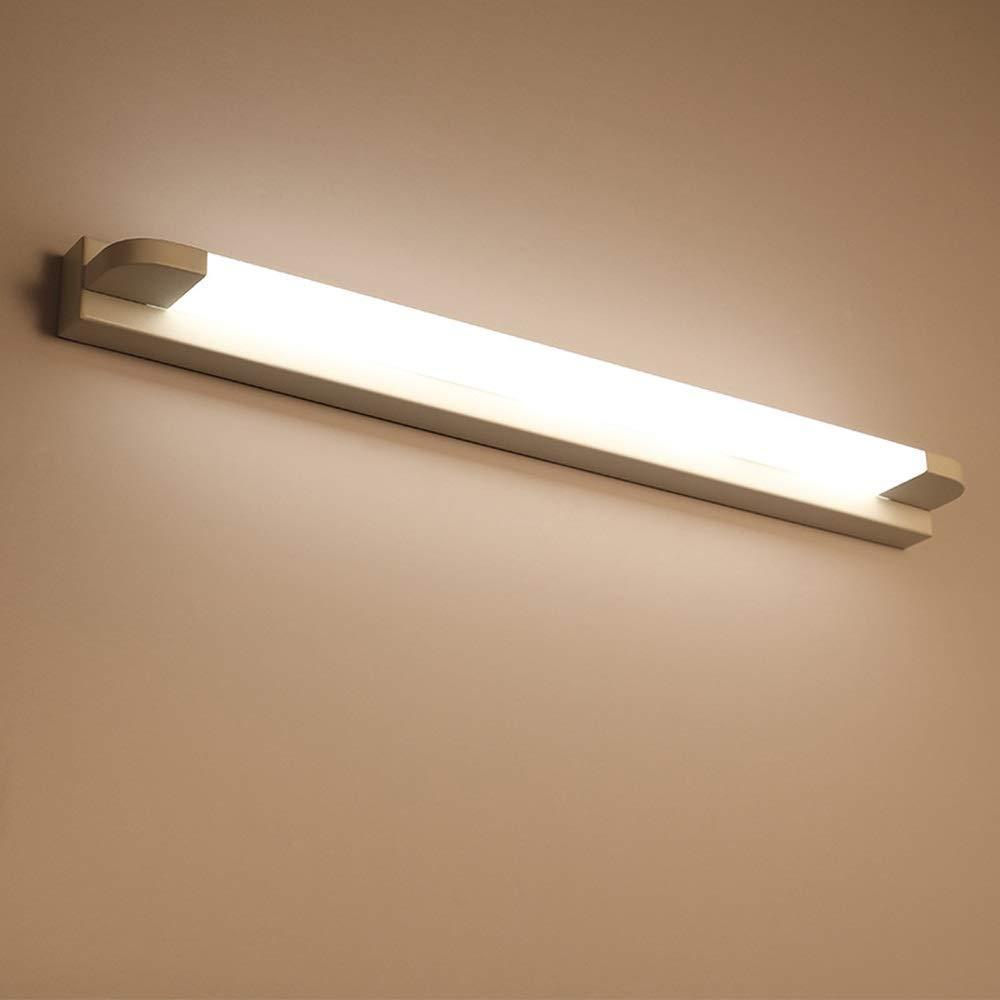 Weiãÿs Licht-66cm 12W Spiegel Scheinwerfer, LED Make-Up Lichter Moderne Badezimmer Spiegel Scheinwerfer Weiß Rasierspiegel Lichter (Farbe   Weißes Licht-66cm)