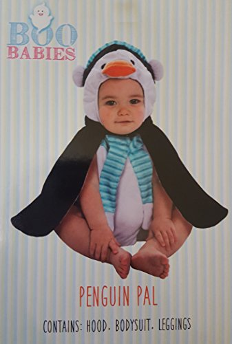 [Boo Babies Halloween Costume Penguin Size 0-9 Months] (Boo Baby Costume)