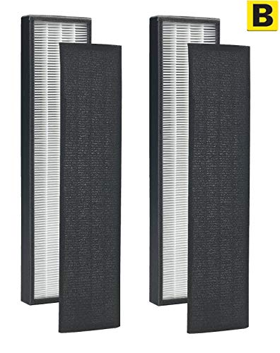 LSE Lighting True HEPA Filter B for GermGuardian FLT4825 AC4300 AC4800 AC4900 Series (2)
