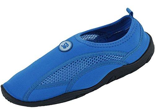 Sunville Womens Water Shoes Aqua Socks Blue-2909 0f2XOH