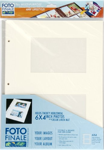 - Matted Album Refill Pages for 6