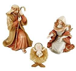 Lenox Little Town Of Bethlehem Porcelain 3-Piece The Holy Family
