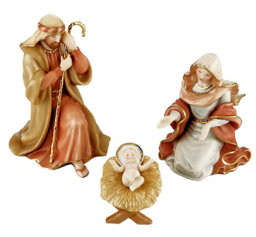 Lenox Little Town Of Bethlehem Porcelain 3-Piece The Holy Family by Lenox