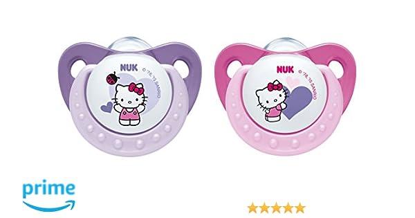 NUK chupete de silicona 10175104 Trendline Hello Kitty ...