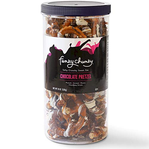Funky Chunky Chocolate Pretzel, 19-Ounce Canister ()