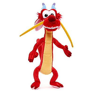 Official Disney Mulan - Mushu 40cm Soft Plush Toy: Toys & Games