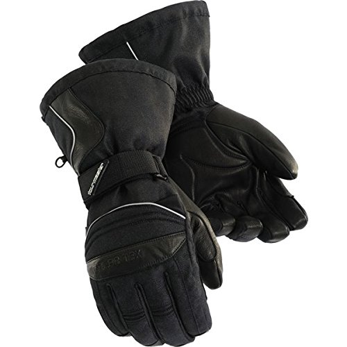 Tourmaster Mens Winter Elite II Motorcycle Gloves Black Extra Small XS 8427-0205-03