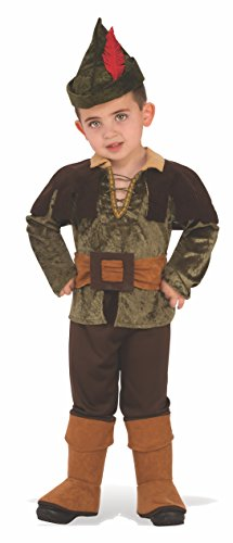 Rubie's Robin Hood Child's Costume, Small (Peter Pan Once Upon A Time Costume)