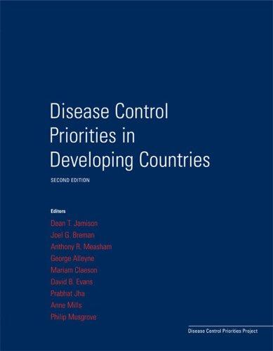 Disease Control Priorities in Developing Countries (Disease Control Priorities Project)