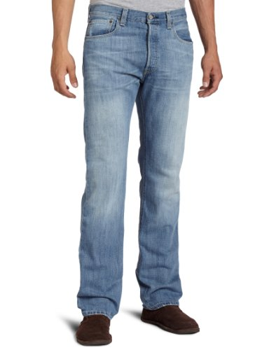 Levi's Men's 501 Original Fit Jean, Light Mist, 31x34