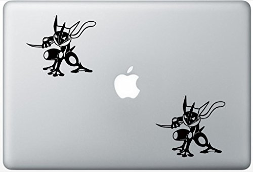 Price comparison product image Pokemon Greninja Ds ArcDecals78600990 Set Of Two (2x) ,  Decal ,  Sticker ,  Laptop ,  Ipad ,  Car ,  Truck
