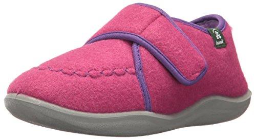 Kamik Footwear - Kamik Girls' CozyLodge Slipper, Magenta, 3 Medium US Little Kid