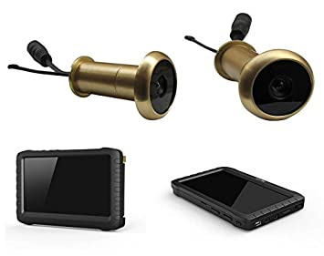Amazon.com : 5.8G Wireless Door Peephole Camera with DVR 100m ...