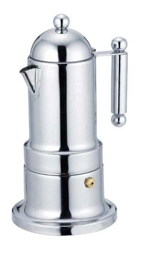 Pearl Argo order stainless espresso coffee maker 2CUPS MK-4157 (japan (Pearl Espresso Maker)