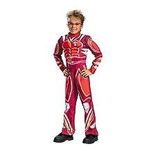 Hot Wheels Vert Wheeler Mscl 4-6 Kids Boys Costume