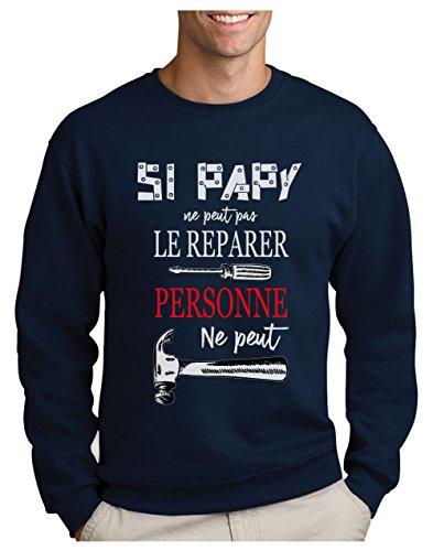 Bricoleur Marine Papy Humour Peut Sweatshirt Pères Homme Réparer Grands Tout zPp1PqI