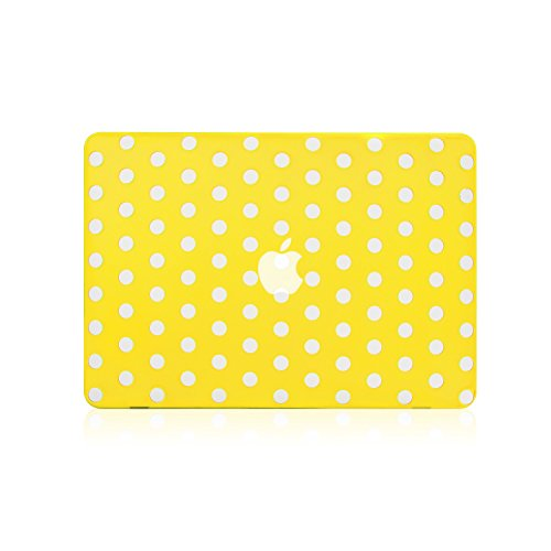 TopCase Design Yellow Rubberized Macbook