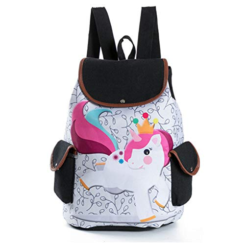 1547b Drawstring Women Embroidery Canvas Female Girls Backpack School Backpacks Refuelr Print Teenage Bags Cats Cute For Backpack 1axSqwP