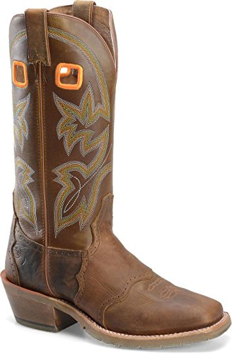 Double H Boot - Mens - 14 Inch Work Western Buckaroo (Double H Western Work Boots)