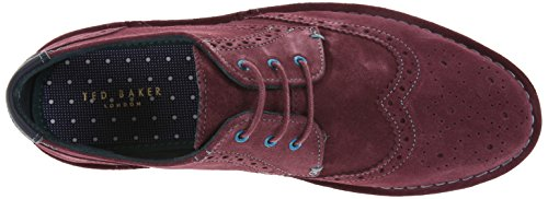 Grey Ted Baker Shoes Purple Laces