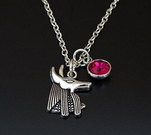 Amazon anubis necklace anubis charm anubis pendant anubis anubis necklace anubis charm anubis pendant anubis jewelry egyptian gods egyptian aloadofball Images