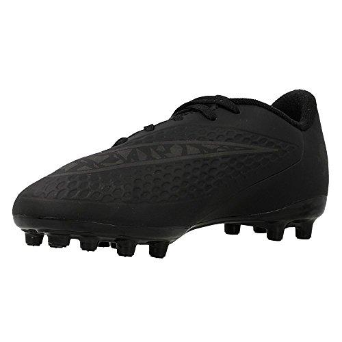 Nike Hypervenom Phelon FG Kinder Fussballschuhe black-black-black-total orange - 38,5
