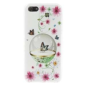 iphone Funda de mariposa - Carcasa para iphone 5/5S