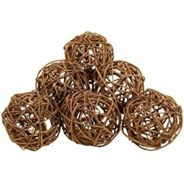 Deco 79 37215 Natural Decor Ball (Set of 6), 4