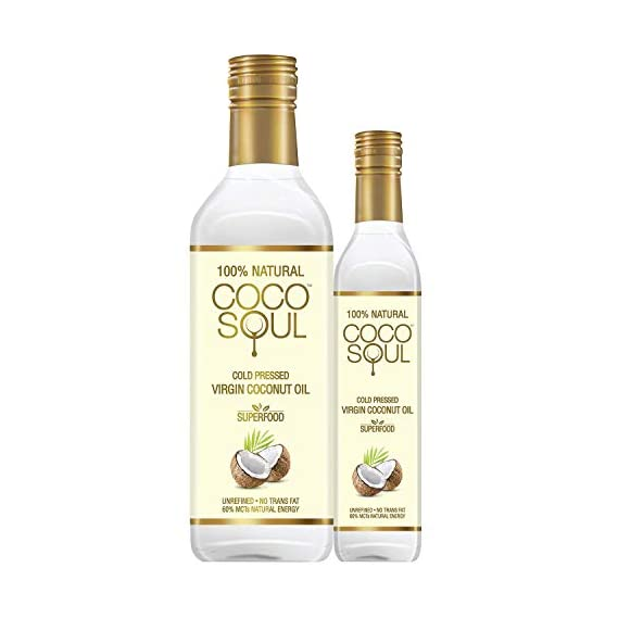 Coco Soul Cold Pressed Natural Virgin Coconut Oil, 250 ml