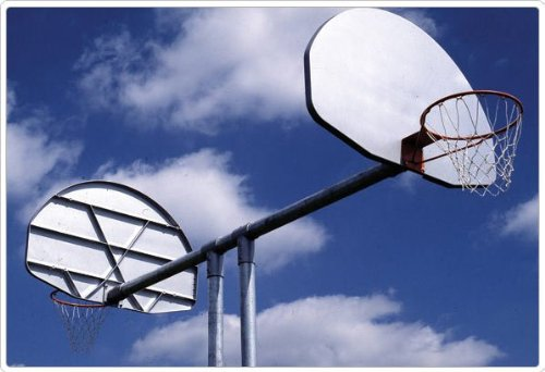 Sport Play 541-864 Double Basketball Backstop by Sports Play Equipment