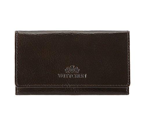 WITTCHEN caso, Marrone, Dimensione: 7x13 cm - Materiale: Pelle di grano - 21-2-266-4