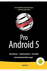 By Dave MacLean - Pro Android 5 (5th Edition) (2015-06-25) [Paperback]